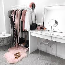 Space Saving Closet Ideas With A Dressing Table Beautiful Battle Station House Loves Pinterest Bedrooms