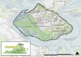 Virginia On Map by Pamunkey Map 1 Jpg