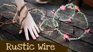 how to make rustic wire woodland fantasy home decor and party