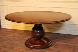 furniture solid wood round pedestal dining table round pedestal