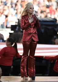 Razzle dazzle  Lady Gaga is set to headline the      NFL Super Bowl halftime show Daily Mail