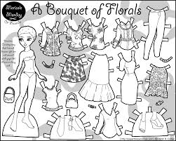 87 paper doll coloring pages here for more marisole monday