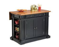 home styles black u0026 cottage oak kitchen island 5003 94