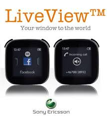 ���� montre live view sony ericsson