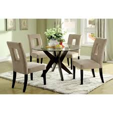 Bedroom Furniture Granite Top Round Glass Dining Room Table Provisionsdining Com