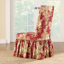 fit waverly ballad bouquet long dining room chair slipcover