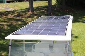 solar electric hybrid golf cart solar photovoltaic 100 220 280