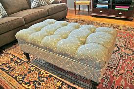upholstered ottoman coffee table full size of furniture stunning
