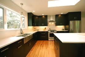Modern Kitchen Cabinets Seattle Interior Design Cozy Pental Quartz With Upholstered Bar Stools