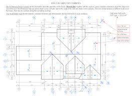 Floor Plan With Roof Plan by Roof Plan Sample Metric Standard Roof Plans Swawou