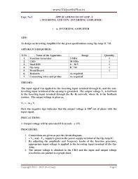 digital logic circuits dlc lab manual vidyarthiplus v