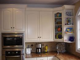 top corner kitchen cabinet