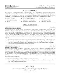Tax Accountant Sample Resume by Free Senior Associate Resume Example