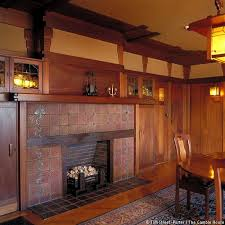 59 best bungalow fireplaces images on pinterest craftsman