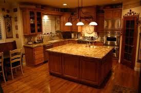 granite countertop carved kitchen cabinet doors crushed glass