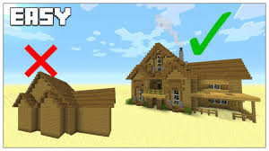 Small House Build Easy Tips To Build Better In Minecraft Survival House Tutorial