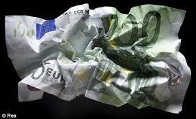 Euro=carta straccia