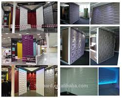 120th canton fair created new design 3d texture wall panel 3d wall