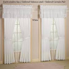 photos imported embroidered lace sheer curtains concealed tab
