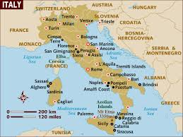 Thousand Islands Map The Geography Of Italy Map And Geographical Facts