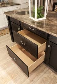 pots u0026 pans drawers in kitchen island the thoroughbred