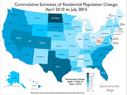 Arizona Us Map by Customizable Maps Of The United States And U S Population Growth