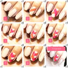 nail art step by step version of the easy step by step fishtail