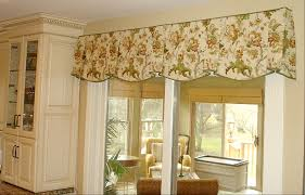 the debate is on do i put a valance over the sliding glass door
