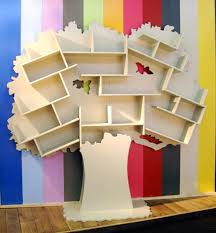 Kids Room Bookcase by Tree Shaped Bookcases Adding Interest To Kids Room Decorating