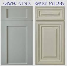 Molding On Kitchen Cabinets Rosa Beltran Design Diy Painted Kitchen Cabinets