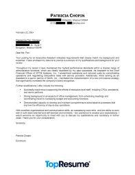 Letter Example   Executive Assistant   CareerPerfect com JFC CZ as