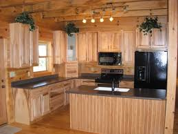 Log Homes Interior Designs Interior Entrancing Kitchen Rustic Design And Decoration Using