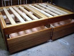 Plans For Wooden Platform Bed by Reclaimed Wood Rustic Platform Bed Plans
