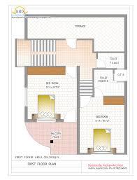 duplex house plan and elevation u2013 1770 sq ft home design