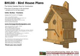 Design Bloggers At Home Pdf Home Garden Plans Home Garden Plans Bh100 Bird House Plans