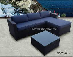 outdoor sectional sofa set patio sectional couch steel frame
