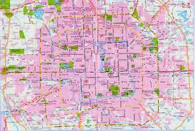 China City Map by Beijing Area U0026 Subway Map China Maps Map Manage System Mms