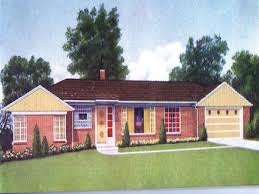 Executive Ranch Floor Plans 1960 Ranch House Floor Plans House Design And Office Classic