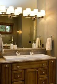 shannon schnell large trough sink with two faucets bathroom