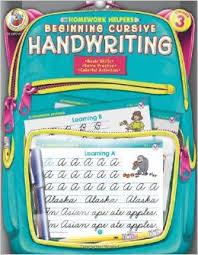 Beginning Cursive Handwriting  Grade    Homework Helper   Frank     Amazon com Beginning Cursive Handwriting  Grade    Homework Helper   Frank Schaffer Publications                 Amazon com  Books