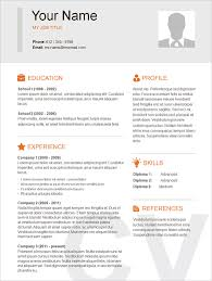 Resume Sample Pdf basic resume template u2013 51 free samples examples format