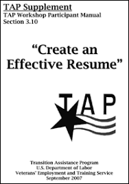 Converting Military Experience to a Civilian Resume at Real Warriors