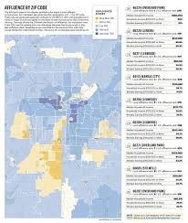 Zip Code Map Portland Or by Where The Money Lives Scoring Affluence In 22 568 Zip Codes