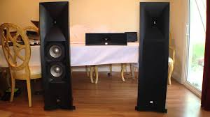 best jbl speakers for home theater jbl studio 590bk speakers review youtube