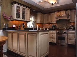 Vintage Kitchen Backsplash Dark Brown Wooden Painted Minimalist Stool Dining Table Vintage