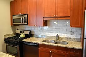 Kitchen Backsplash Options Best Kitchen Subway Tile Backsplash Ideas U2014 All Home Design Ideas