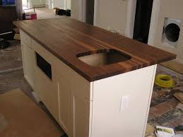 kitchen makes a beautiful kitchen island with walnut countertop