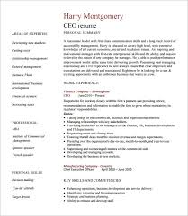 Resume Job Profile by Chief Executive Officer Resume Template U2013 8 Free Word Excel Pdf