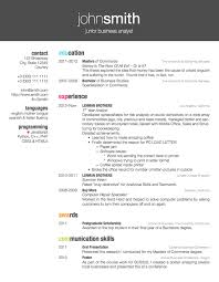 Job Resume  Free Electrician CV Template Electrician Personal     Writing A Cover Letter As An Internal Candidate