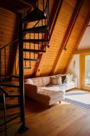 A Frame Cabin Floor Plans With Loft 1096 Best A Frame House Images On Pinterest Small Houses A